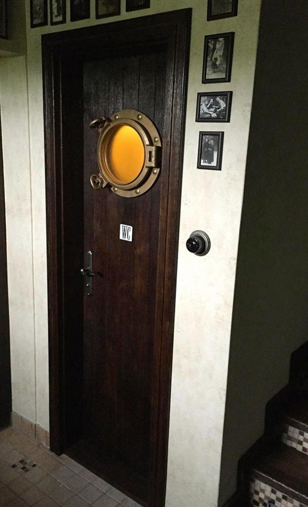 Dwere na WC pre reštauráciu, interiérové dvere, originálne interiérové dvere