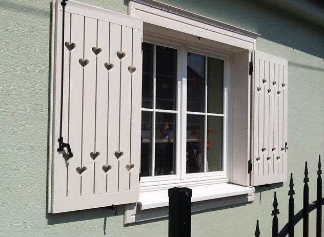 drevené okenice, okenice na mieru, provensalsko okenice